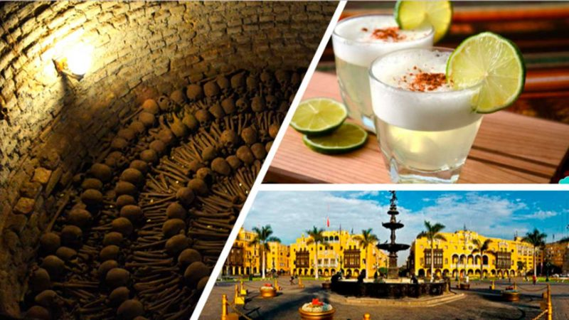 CATACOMBS, PISCO SOUR & MAGIC WATER SHOW